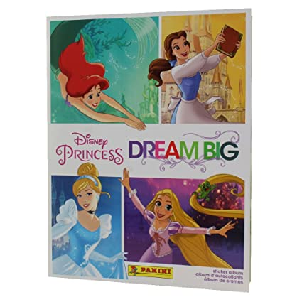 10 Packets Packs of Disney Princess Dream Big Stickers PANINI Verzamelingen