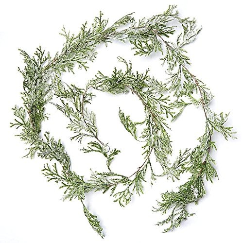 Factory Direct Craft Artificial Cypress Pine Garland - 6 Feet Long