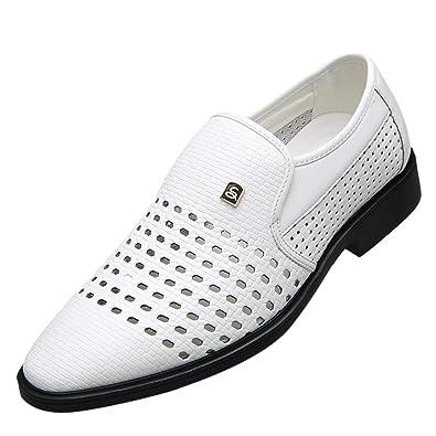 STRIR Zapatos Vestir Hombre Oxford Cuero Derby Traje Casual ...