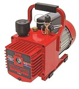 Uniweld HVP8 Pump, Vacuum Pump, Rotary Vane, 8.0 CFM, 115/220 VAC, 2 Stage