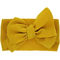 Diademas Bebe Niña,SHOBDW Elásticas Colorful Bows Toddler Kid