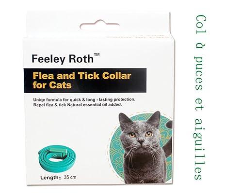 ltuotu collar ultrasonidos) de insectos collar ultrasonidos) para perro & gato contra los chips