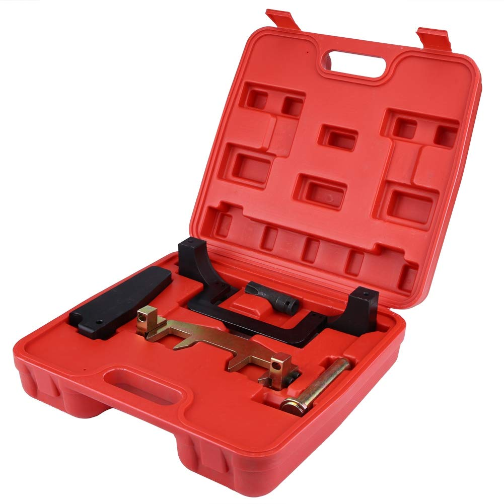 Timing Locking Kit Chain Driven Camshaft Alignment Timing Locking Tool Kit with Carry box for Mercedes Benz M271 1.8L