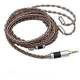 TRIPOWIN C8 8-Core Silver Copper Foil Braided Earphone Upgrade Cable for UE900s SE215 SE425 TIN Audio T2 T3 BGVP…