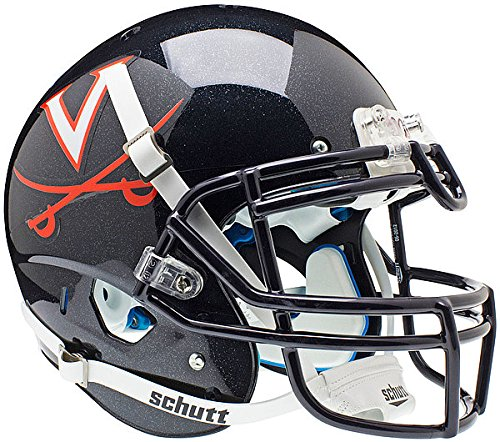 (Schutt NCAA Virginia Cavaliers Authentic XP Full Size Helmet)