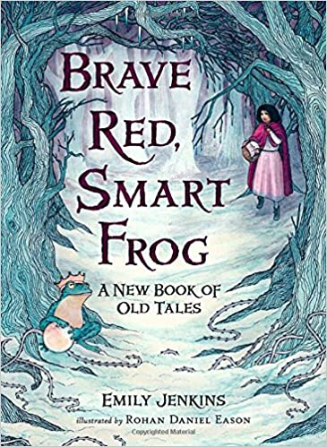 Image result for brave red smart frog