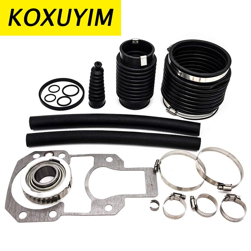 KOXUYIM Transom Repair Kit with Gimbal Bearing, Kit for Mercruiser Alpha One Gen 1 (Mercury Part Number)30-803097T1