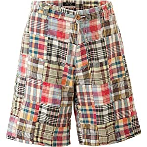 Amazon.com : Snake Eyes Mens Players Patch Madras Shorts