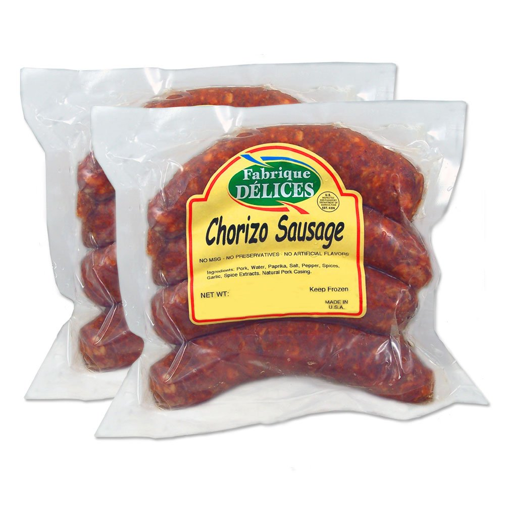 Chorizo Sausages - 4 Links (Pack of 2)