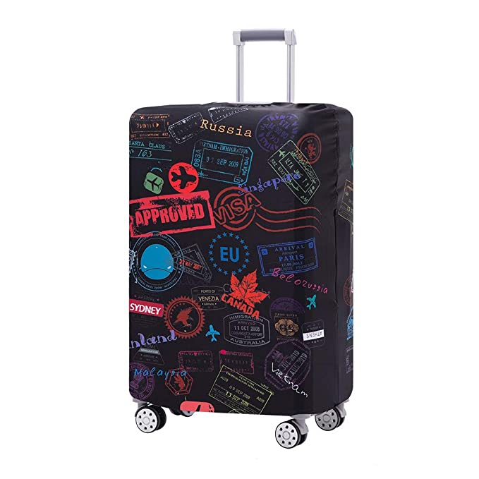 Travelkin Luggage Cover Washable Suitcase Protector Anti-scratch Suitcase cover Fits 18-32 Inch Luggage XL