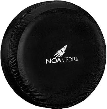Noa Store Boat Trailer Spare TIRE Cover 20.5X8.0X10 Black