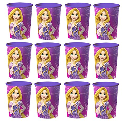 Disney Tangled Princess Rapunzel Reusable Cups (12x) ~ Birthday Party Supplies Plastic Favors from Disney