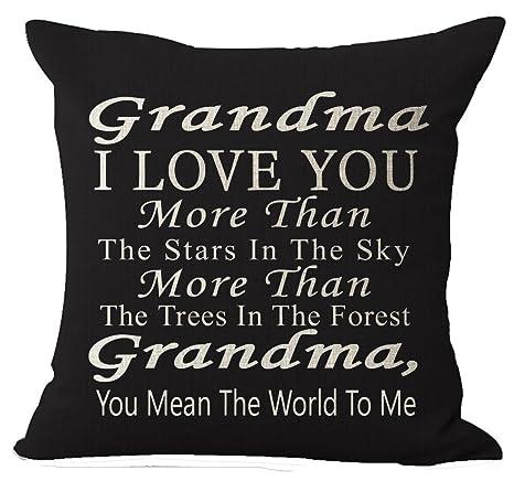 Amazon.com: Best Gift Grandma I Love You More Than The Stars ...
