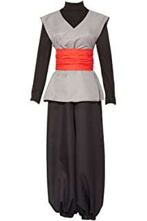 Uu Style Cosplay Halloween Costume Mens Uniform Dress Outfit Son Goku Black Zamasu Kai Costume