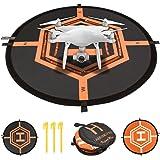 "KepooMan 32"" (80cm) Universal Fast-Fold RC Drones Helicopter Landing Pad for DJI Spark, DJI Mavic Pro, Phantom 2/3/4/4 Pro, Inspire 2/1, Yuneec Typhoon, 3DR Solo, GoPro Karma, Parrot, Antel Robotic"