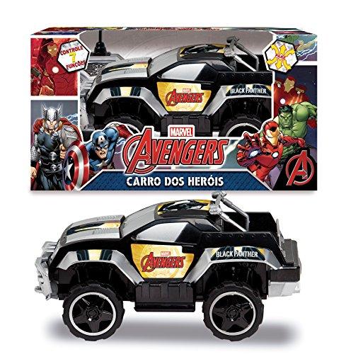 Mimo Pick Up Pantera Negra - Avengers Preto