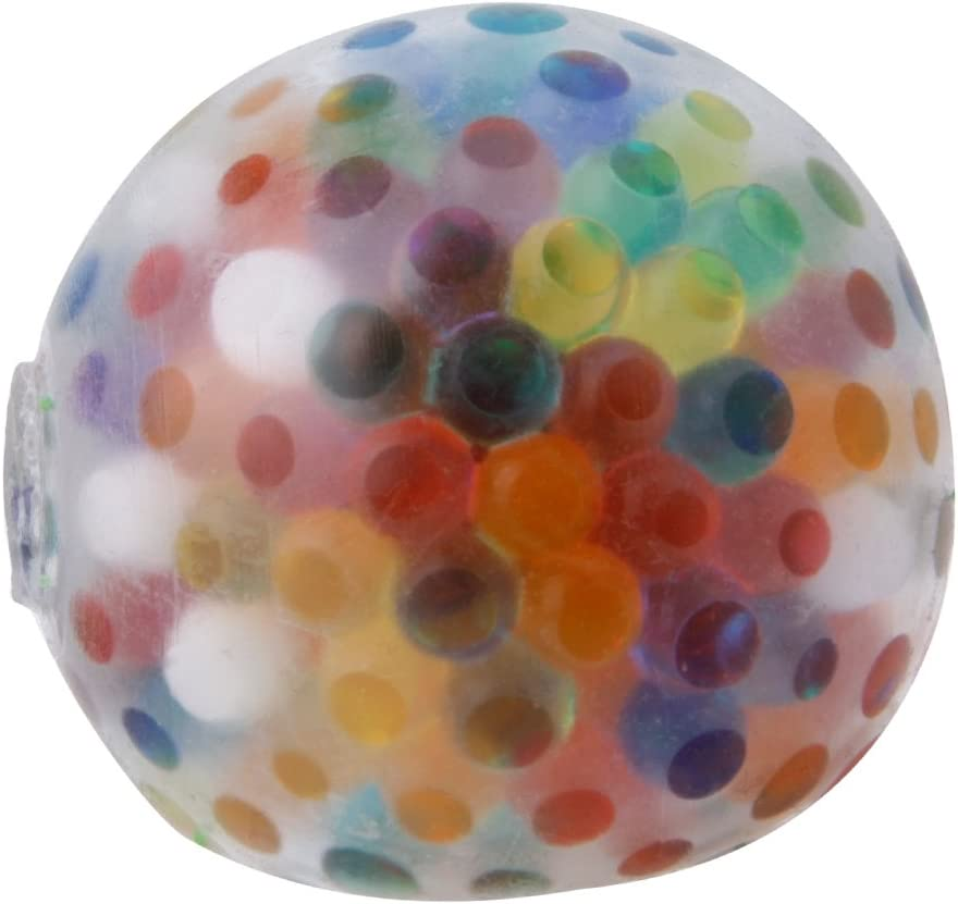 MMOOVV Anti Stress Ball, schwammiger Regenbogen Ball, bunter