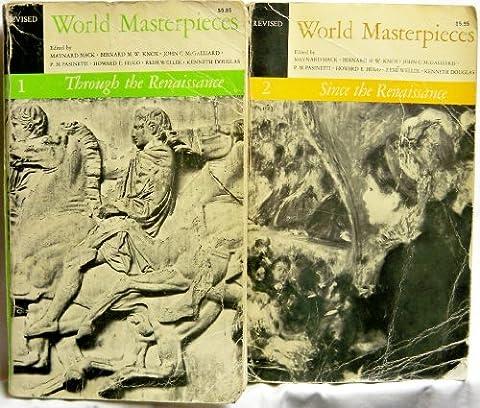 World Masterpieces Revised (2 Vols) (Notes From Underground Norton)