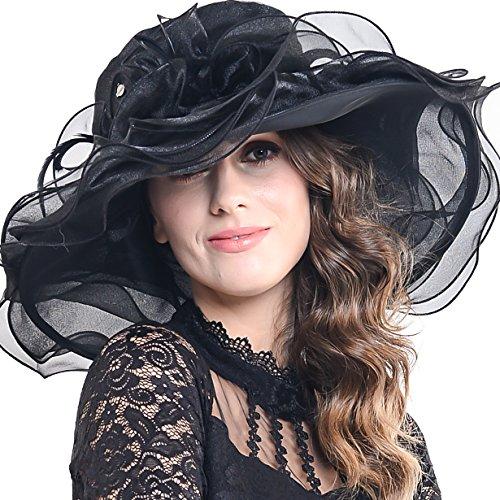 Women (Black Derby Hats)