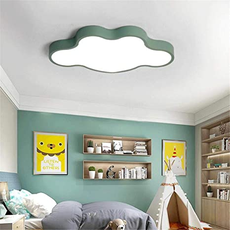 Ceiling Light-A Plafonnier Vert Lampe Enfant Plafonnier ...