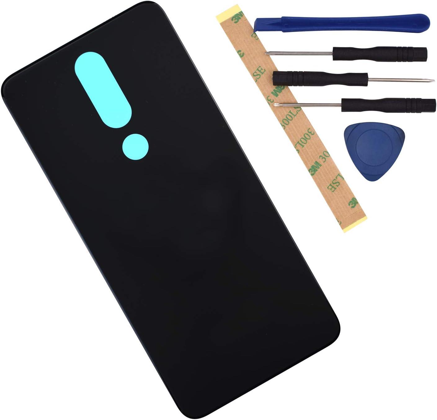Tapa Trasera Nokia 5.1 Plus Negra Ta-1120 Ta-1105 Ta-1102 x