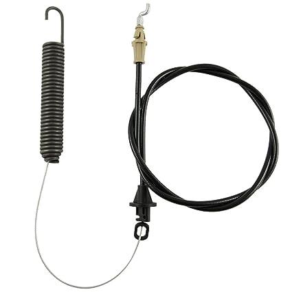 Deck Engagement Cable w/Spring MTD Troy Bilt 946-04173E 746-04173 Mower  Parts