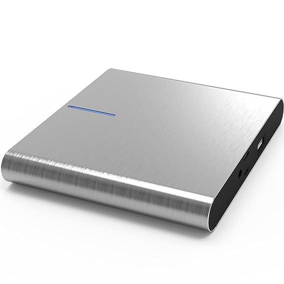 new concept 48104 fe1ba LIFEPOWR A2L Highend Laptop Power Bank Portable AC Outlet Portable Charger  120W 99Wh 27000mAh Aluminum Case Compatible with MacBook Power Bank AC ...
