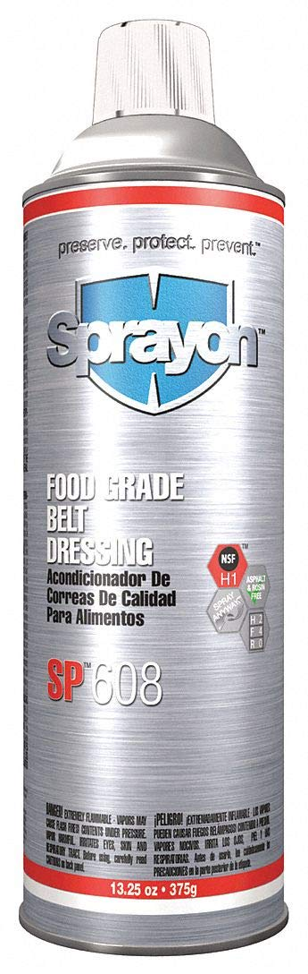 Food Grade Belt Dressing, Aerosol, 13.25oz