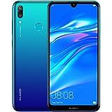 """Huawei Y7 2019 (32GB, 3GB) 6.26"""" Dewdrop Display, 4000 mAh Battery, 4G LTE GSM Dual SIM Factory Unlocked Smartphone (Dub…"""