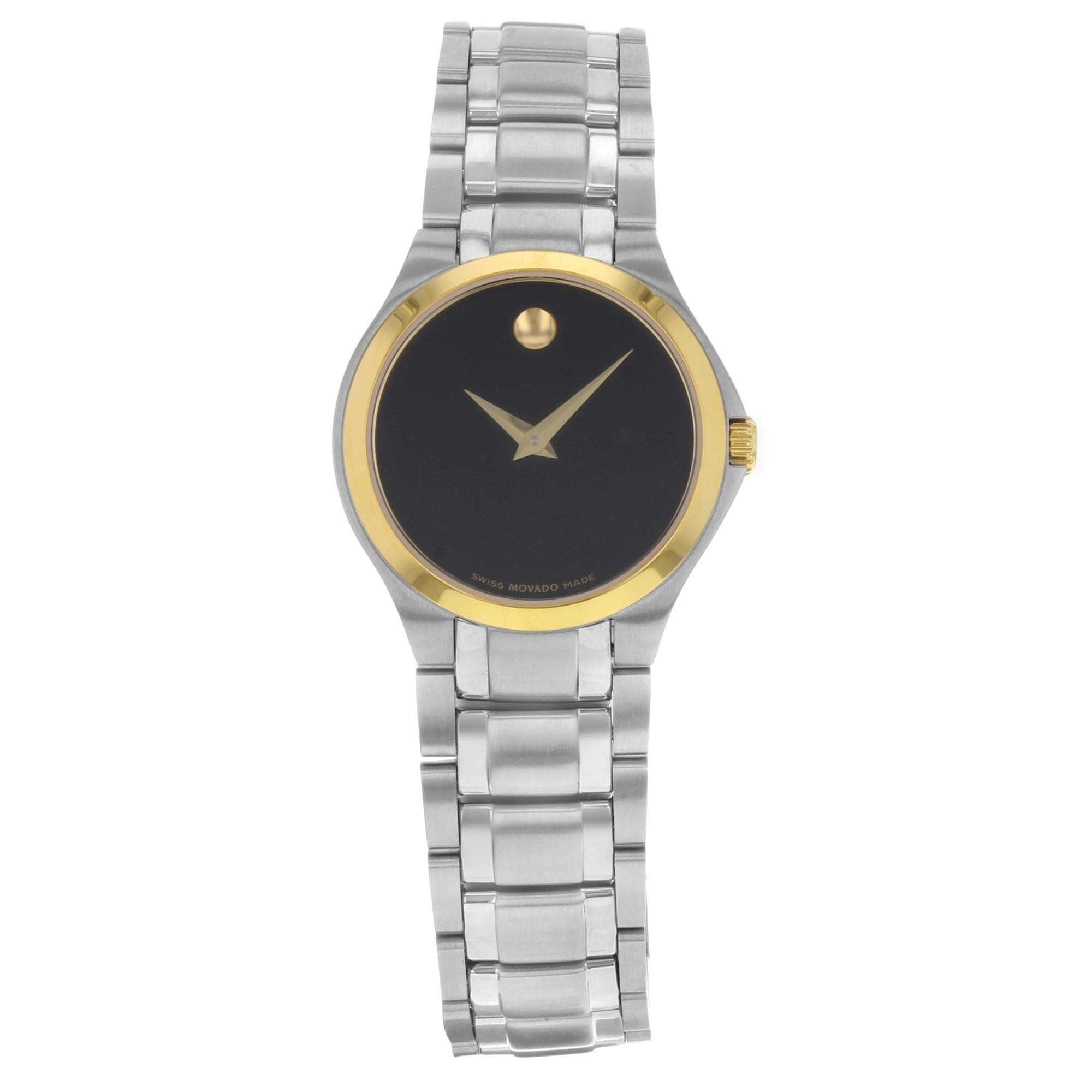 Movado Sapphire Quartz Female Watch 0606786 (Certified Pre-Owned)
