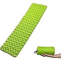 Trekology Inflatable Sleeping Pad, Camping Mats for Sleeping - Compact Lightweight Camp Mat, Ultralight Comfortable Backpacking Mattress Best as Tent Hammock Outdoor Pads