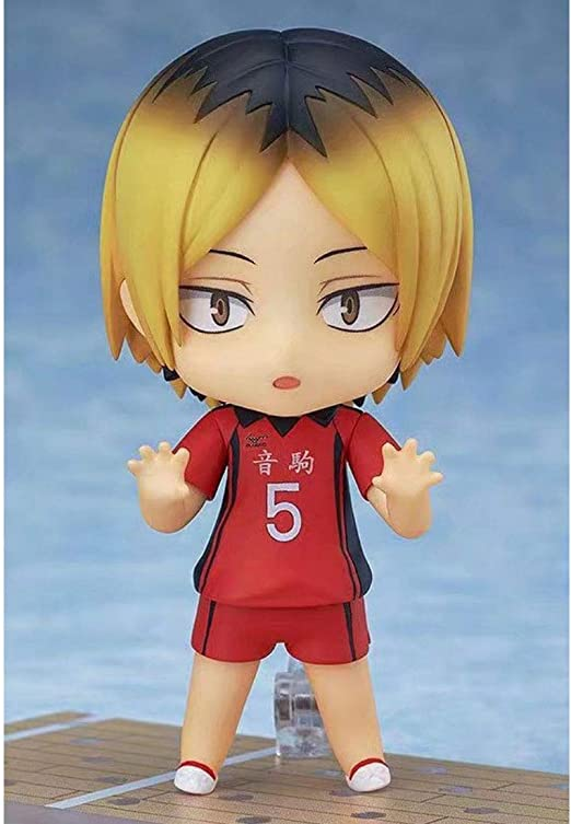 Haikyu Kenma Kozume Action Figures Q Version of The Toy with Accessories and Movable Joints Anime Character Model Static Image Statue Collectibles Ornaments Adult Toys