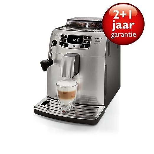 Saeco HD8904/01 - Cafetera (Independiente, Máquina espresso, 1,5 L ...