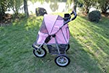 New KEXMY Pink Sporty Pet Jogger Jogging Dog Cat Stroller Carrier For Sale