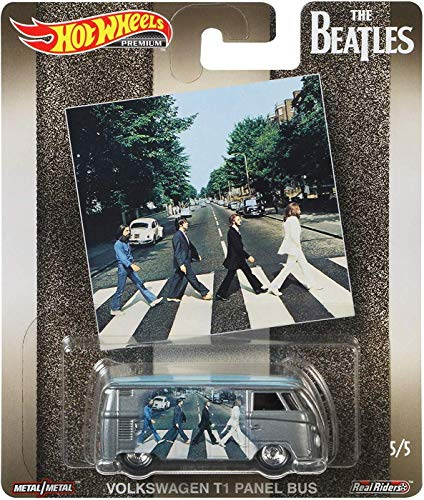 Hot Wheels The Beatles Series VW T1 Panel Bus 5/5, Gray (Hot Wheels Vw)