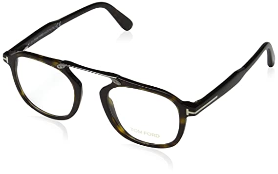 6773a01499 Image Unavailable. Image not available for. Color  TOM FORD Eyeglasses  FT5495 052 Dark Havana