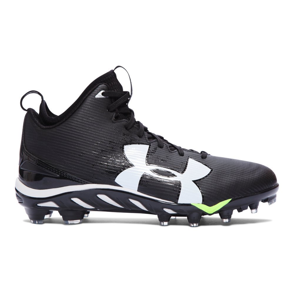 Under Armour Spine Fierce Mid MC American Football Schuhe, 10,5