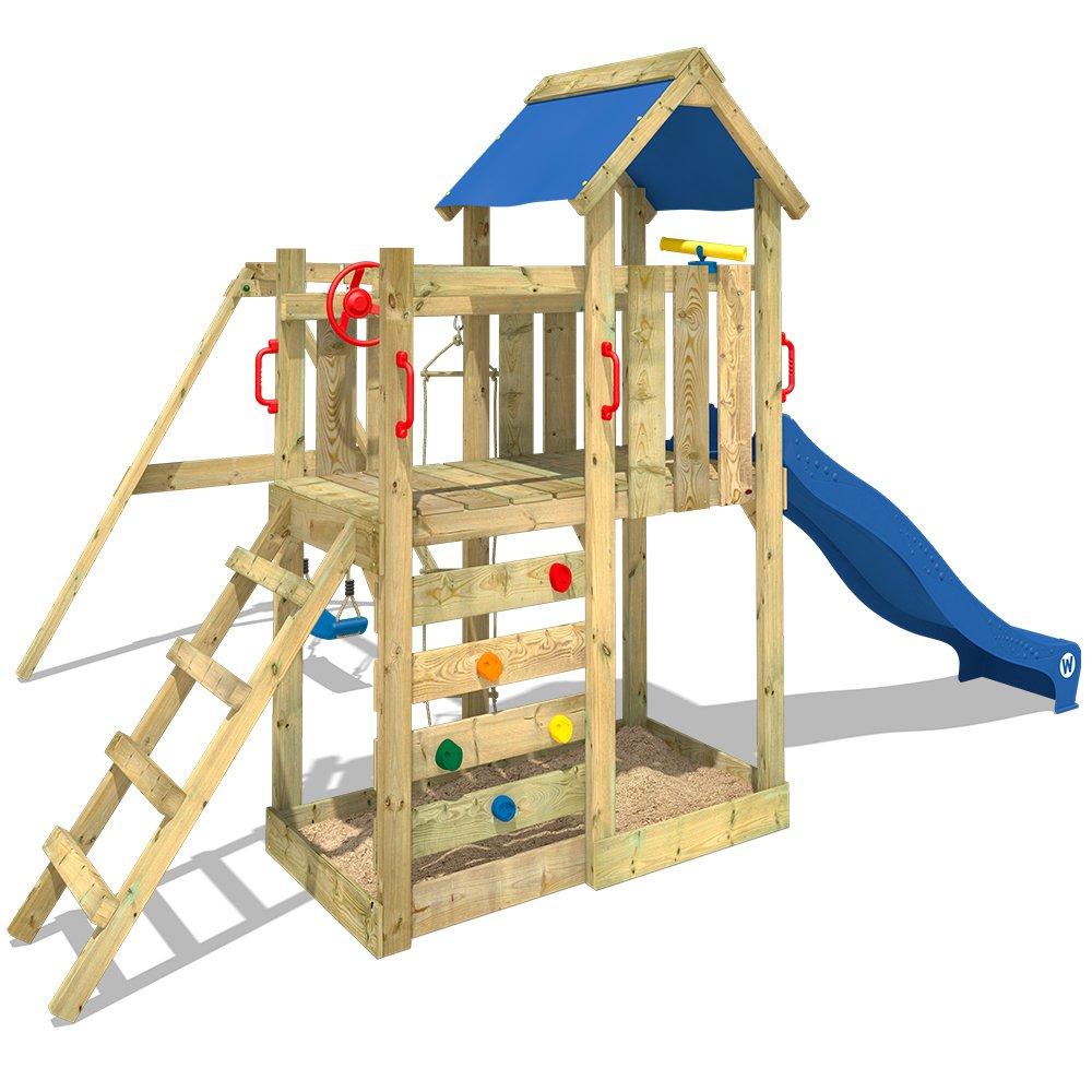 WICKEY Spielturm MultiFlyer Kletterturm Spielplatz Garten mit ...
