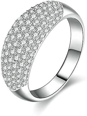 bague diamant large