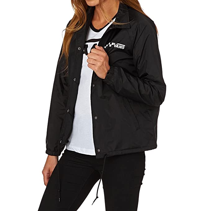 Chaqueta Vans - Thanks Coach negro: Amazon.es: Ropa y accesorios