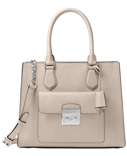 536749c1b64b26 Michael Michael Kors Women's Bridgette Medium East West Tote (Medium,  Cement/Silver)