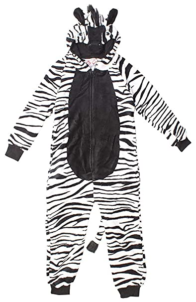 Girls Little Monkey One Piece Fleece Costume Sleep Suit