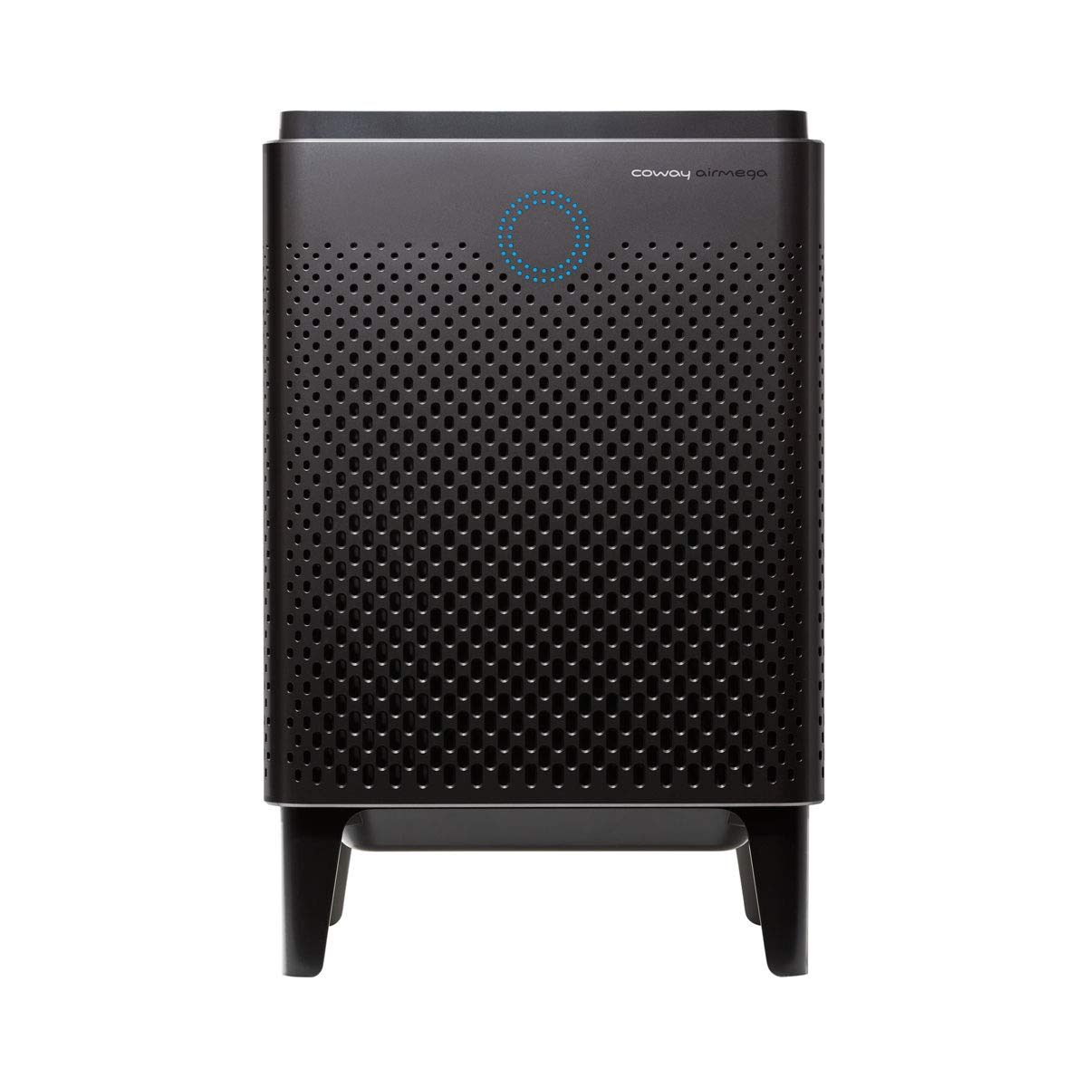 Coway Airmega 400 in Graphite Silver Smart Air Purifier with 1,560 sq. ft. Coverage