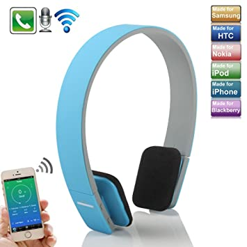 Boriyuan Aec BQ618 - auriculares Bluetooth estéreo inalámbrico cabeza ajustable tipo 3,0 Bluetooth auricular