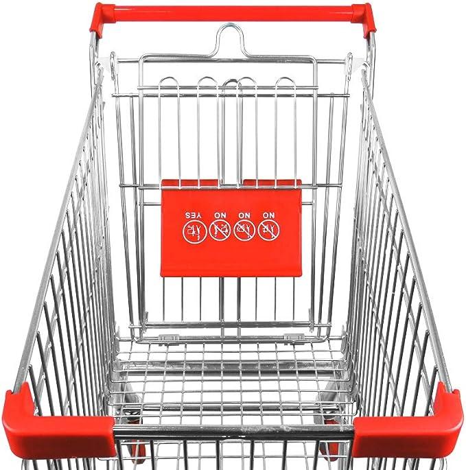 Carro Met/álico Supermercado Yonhoo 471060 60 litros