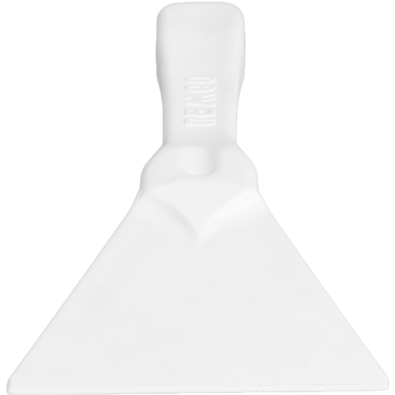 Injection Molded 1 Piece Polypropylene Blade Remco 69626 Stiff Hand Scraper 9.7 L x 4.4 W Yellow