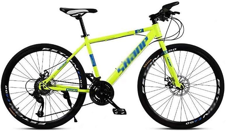RYP Bicicleta para Joven Bicicletas De Carretera 24 Velocidad de MTB Camino de la montaña de