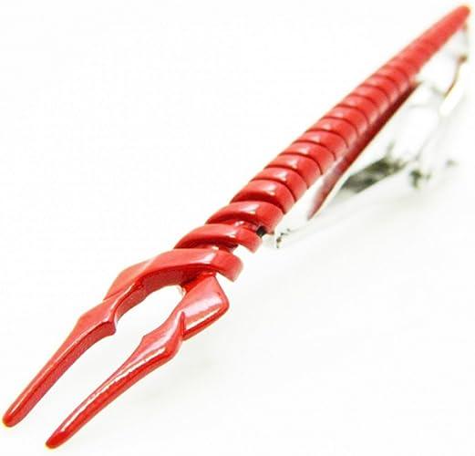Evangelion – Lanza de Longinus Tie Clips rojo: Amazon.es: Joyería