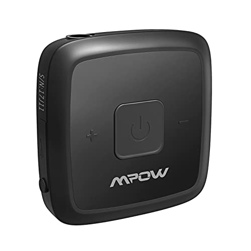 MPOW Mini Bluetooth 4.1 Receiver with Swivel Mental-Clip