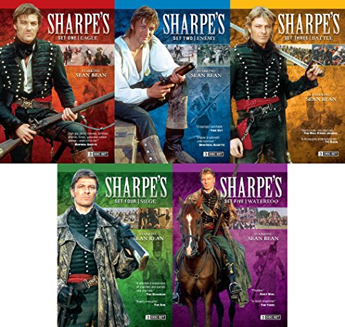 Sharpe Complete Collection Volumes 1-5 (15 DVD Set)